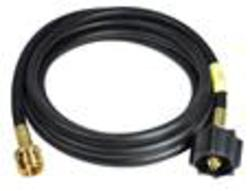 """Mr. Heater 12' Hose (1/4 ID 12' L 1-20"""" Appliance End)  connects portable propane appliances to a 20 lb tank."""