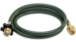 """Mr. Heater 10' Hose (1/4 ID 10' L 1"""" 20 Male Throwaway Cylinder Thread) (Plastizer Free) use with low pressure appliances that are going to be connected to high pressure systems or bulk propane tanks."""