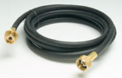 """Mr. Heater 12' Hose 1/4 ID 12' L 1"""" 20 Female Throwaway Cylinder Thread x 1"""" 20 Male Throwaway Cylinder Thread for use with most distribution posts or """"T"""" and """"Y"""" connectors as well as 1 lb disposable cylinders."""