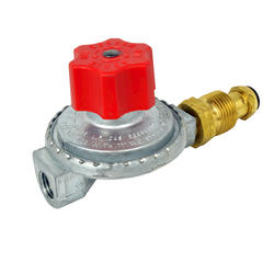 Mr. Heater High Pressure Regulator with P.O.L. commonly used on torches, fish cookers, smokers or other high pressure appliances.