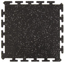 "Active Floor Tile Black 16.5"" x 16.5"" (11.34 sq.ft/pkg)"