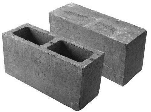 Cmu Cap Block : Quot solid top cap construction block at menards