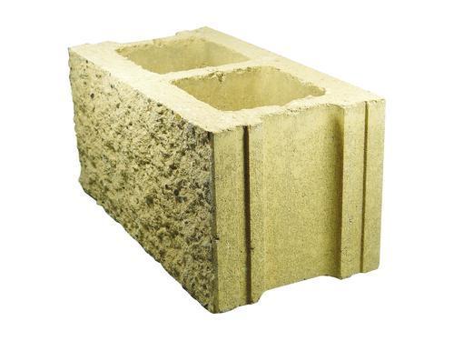 Stone Face Concrete Blocks : Quot split face block at menards