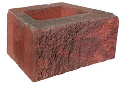 "6"" x 18"" x 12"" Denver Straight Retaining Block"