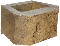 "8"" x 17"" x 12"" Clifton Wall Beveled Retaining Block"