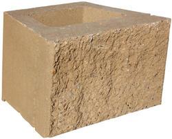 "8"" x 18"" x 12"" Clifton Wall Straight Retaining Block"