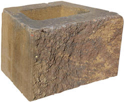 "8"" x 18"" x 12"" Clifton Wall Straight Retaining Block"