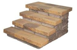 4 Step Stair. Price includes landscape block.