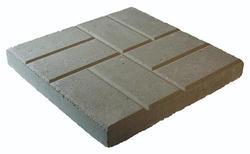 """12""""Gray Brickface Patio Block"""