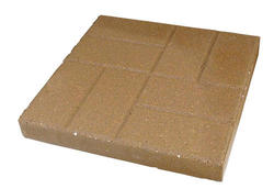 "12"" Brickface Patio Block"
