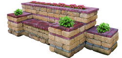 Courting Bench. Price includes landscape block and detailed plans.