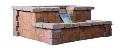 Fjord Fountain. Price includes landscape block and detailed plans.