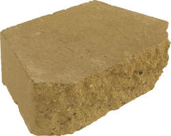 "3-1/2"" x 11-1/2"" x 7"" Crestone Beveled Retaining Wall Block"
