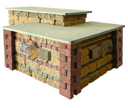 Plateau Bar. Price includes landscape block and detailed plans.