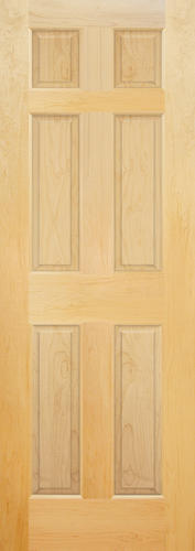 Mastercraft Maple Raised 6 Panel Interior Door Only At