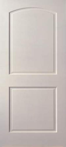 Mastercraft Primed Arch 2 Panel Hollow Interior Door Only
