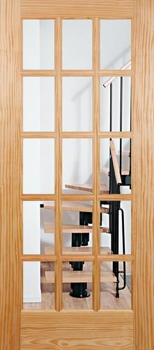 Mastercraft Pine 15 Woodlite Interior Door Only At Menards Larson Liberty Duratech Single Vent