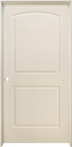 Mastercraft primed arch raised 2 panel prehung interior door at menards for Mastercraft prehung interior doors