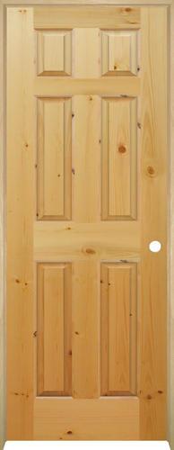 Mastercraft pine 6 panel prehung interior door at menards autos post for Mastercraft prehung interior doors