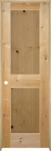 Mastercraft flat knotty alder 2 panel prehung interior - Mastercraft exterior doors reviews ...