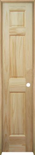 mastercraft pine 6 panel prehung interior door at menards autos post. Black Bedroom Furniture Sets. Home Design Ideas