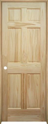 Mastercraft Pine 6 Panel Prehung Interior Door At Menards
