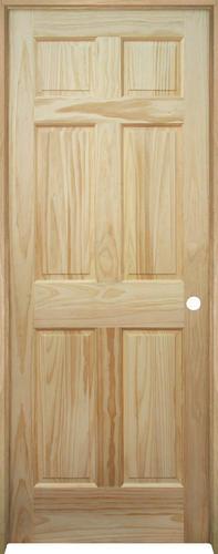 mastercraft pine 6 panel prehung interior door at menards ForMastercraft Prehung Interior Doors