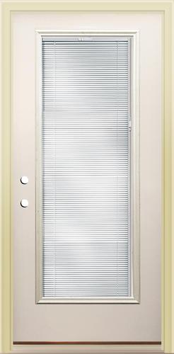 Mastercraft lt 8 lift tilt 36 x 80 steel prehung - Menards exterior doors with glass ...