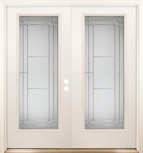 Mastercraft primed steel fl 686 72 x 80 full lite french for 72 x 80 exterior door