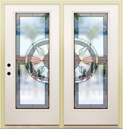 Mastercraft ca 686 primed steel 72 x 80 center hinge for 72 x 80 exterior door