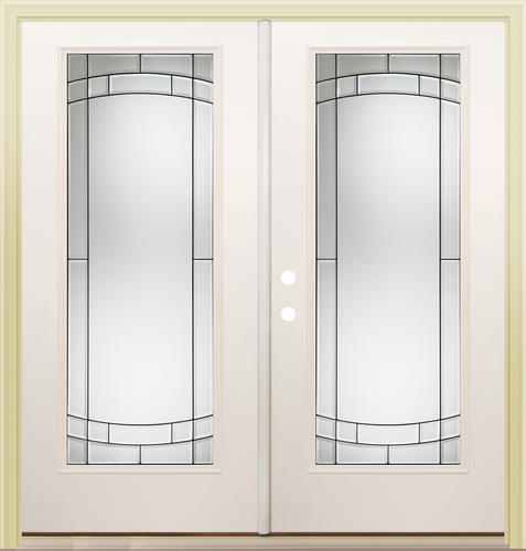 Mastercraft Sv 686 Steel 72 X 80 Full Lite French Patio Door At Menards