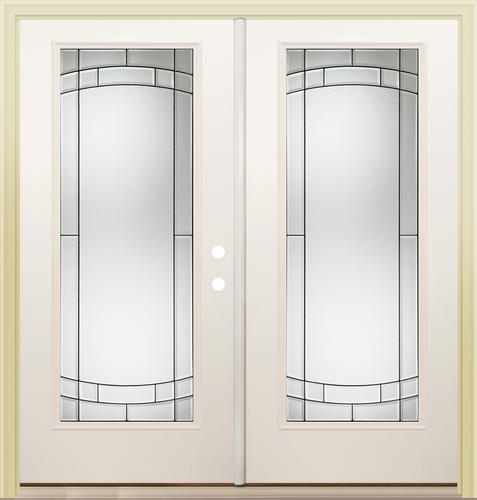 Mastercraft sv 686 steel 72 x 80 full lite french patio for Full window exterior door