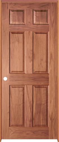 Mastercraft Cherry 6 Panel Prehung Interior Door At Menards