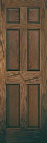 Mastercraft prefinished english chestnut oak raised 6 panel int door only at menards for 6 panel oak interior door slab