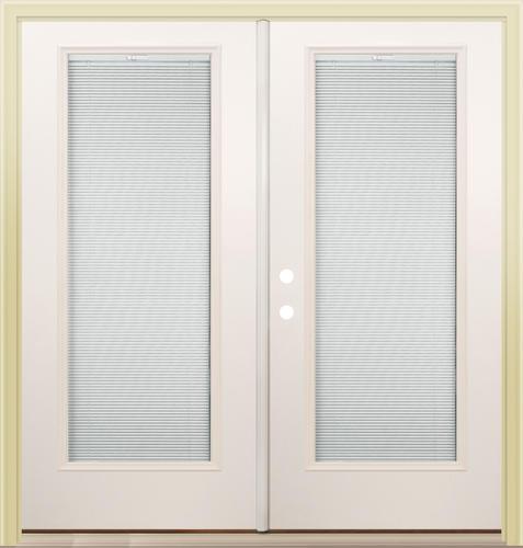Mastercraft lt 8 primed steel 72 x 80 french patio door for 72 x 80 exterior door