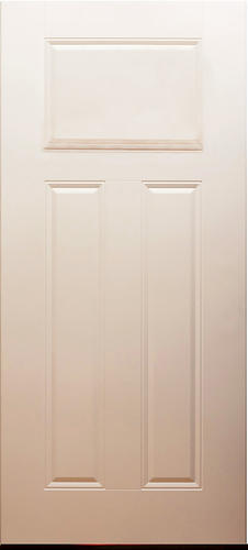 Mastercraft 3 Panel 36 X 80 Primed Steel Ext Door Slab Only At M