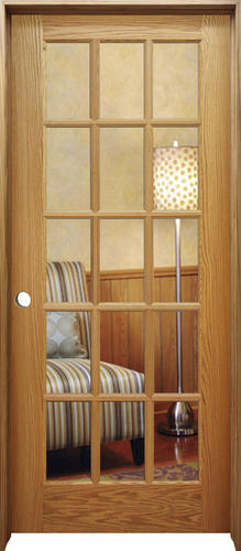 Mastercraft Oak Woodlite 15 Lite Prehung Interior Door At