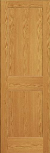 Mastercraft Oak Flat 2 Panel Interior Door Only At Menards 174