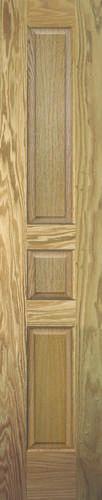 Mastercraft 16 x 80 x 1 3 8 solid core oak 3 panel 6 for 16 x 80 interior door