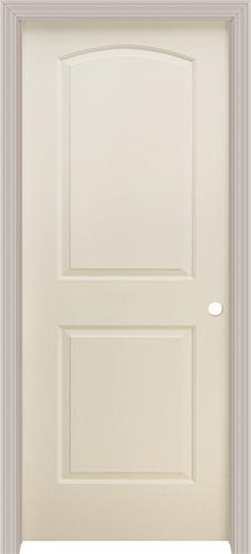 Mastercraft primed split jamb arch 2 pnl prehung interior door at menards for Mastercraft prehung interior doors