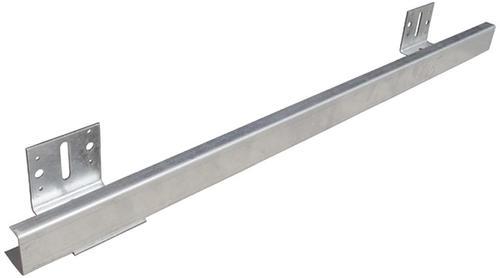 Pole Barn Post Brackets : Guide rail and bracket