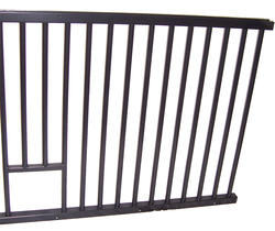 "48"" Horse Stall Feed Chute Grill"