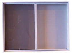"""48"""" x 36"""" White Window without J-Channel"""