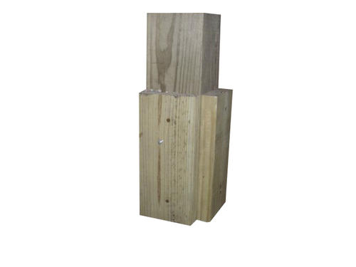 Pole Building With Block Wall : Quot treated anchor block at menards