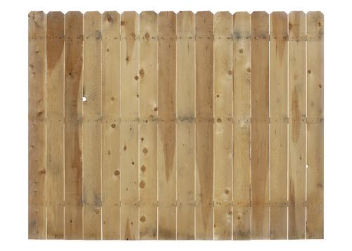 Dog Eared Cedar Fence Panel Menards