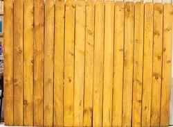 6' x 8' Cedartone Heavy Duty Dog-Eared Fence Panel