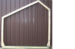 8' Garden EZ Build Storage Building Frame