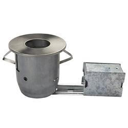 """4"""" PAR20 Brushed Steel Flush Recessed Light"""