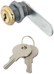 N239-160  - 825 Door/Drawer Keyed Different Utility Locks in Brass