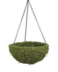 """14"""" Round Moss Hanging Basket"""